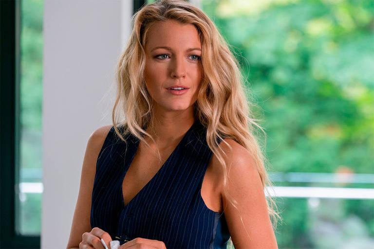 """Blake Lively em cena de """"Um Pequeno Favor"""""""