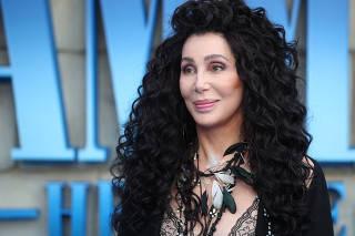 FILE PHOTO: Cher attends the world premiere of Mamma Mia! Here We Go Again at the Apollo in Hammersmith London
