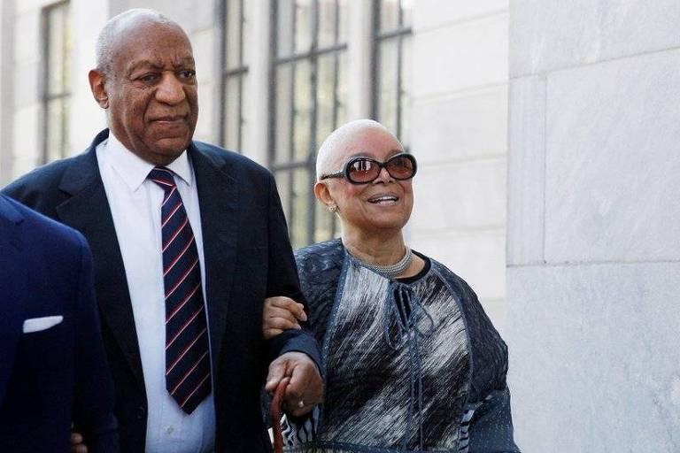Cosby e a mulher, Camille: Ator admitiu que adquiria sedativos para dar a mulheres jovens com quem queria ter relações sexuais