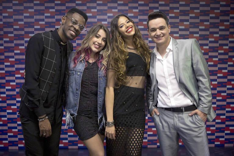 o The Voice Brasil definiu os quatro finalistas da sétima temporada:Kevin Ndjana, Isa Guerra, Erica Natuza e Léo Pain, que competem pelo título nesta quinta (27)