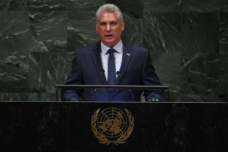 Líderes cubanos discursam na ONU