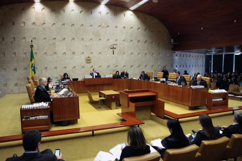 (26/09/2018) Sessão plenária do STF.  Foto: Carlos Moura/CO/STF