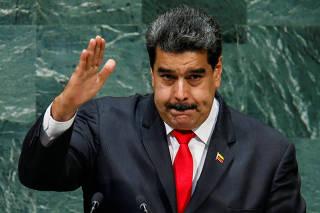 Venezuela's President Maduro addresses the General Assembly in New York
