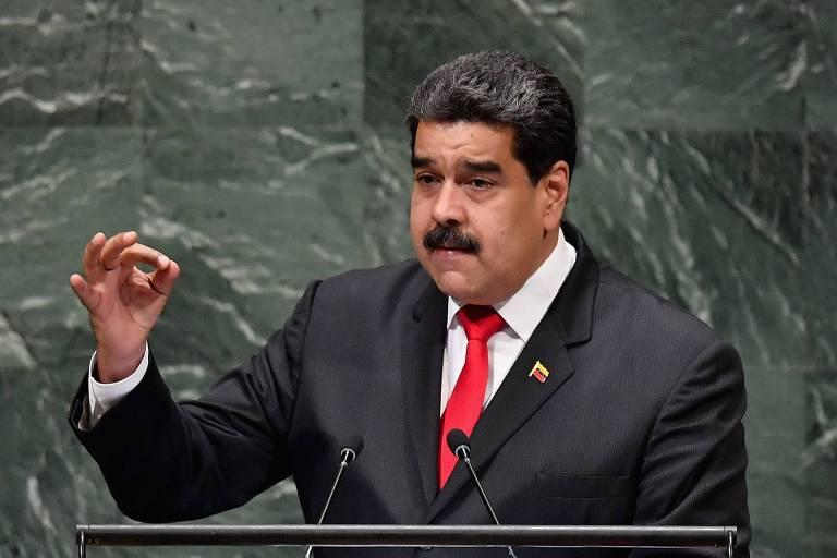 Nicolás Maduro discursa na Assembleia Geral da ONU, em Nova York
