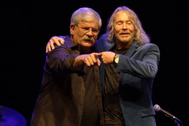 Dori Caymmi e Marcos Valle são cantores e compositores