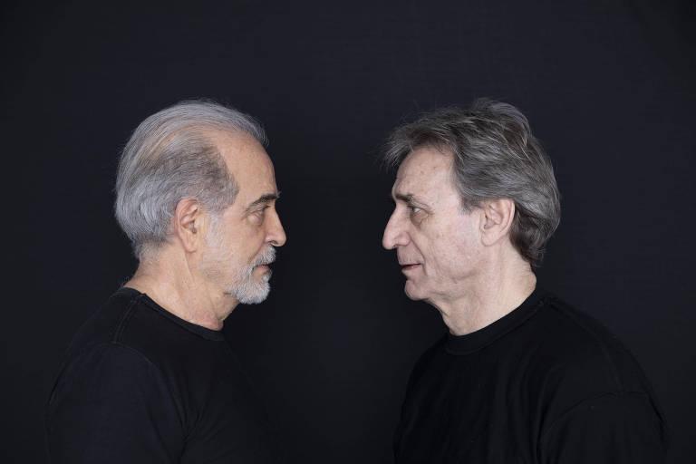 """Genézio de Barros e Herson Capri em """"As Brasas"""""""