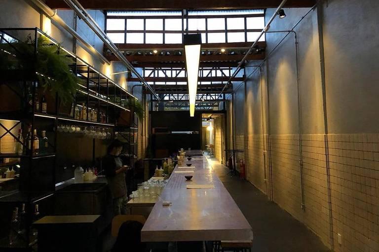 Ambiente do novo Caracol, na Vila Buarque, que combina bar e balada