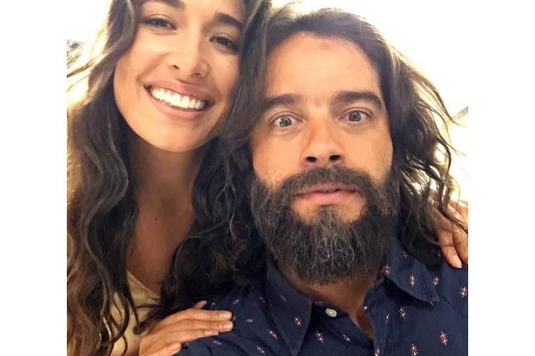Giselle Itié e Guilherme Winter