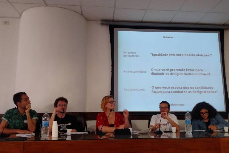 Evento do coletivo Faz Diferença? sobre a campanha Igualdade Tem Voto, na Câmara Municipal de São Paulo