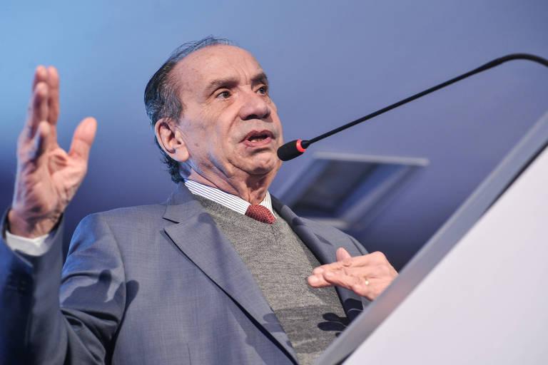 O ministro das Relações Exteriores, Aloysio Nunes, do PSDB