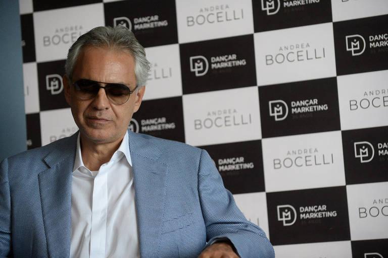 Coletiva de Andrea Bocelli