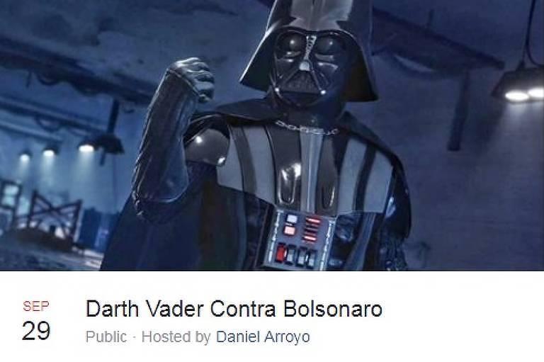 Eventos fictícios contra Bolsonaro movimentam Facebook