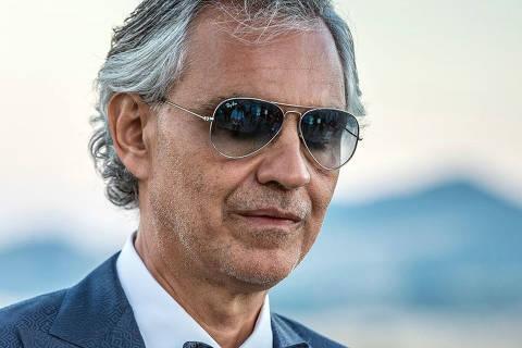 Andrea Bocelli DIREITOS RESERVADOS. NÃO PUBLICAR SEM AUTORIZAÇÃO DO DETENTOR DOS DIREITOS AUTORAIS E DE IMAGEM