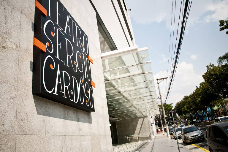 Fachada do Teatro Sérgio Cardoso, no bairro da Bela Vista