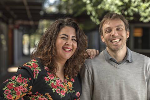 SÃO PAULO, SP - 12 JULHO: Roberta Faria e Ricardo Pipponzi, fundadores da Editora Mol, posam para foto em São Paulo, SP, em 12 de julho de 2018 (Foto: Renato Stockler) *****EXCLUSIVO PRÊMIO EMPREENDEDOR SOCIAL 2018*****