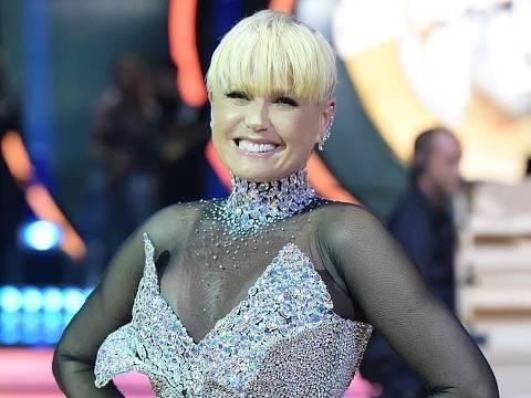 Xuxa na final da terceira edição do Dancing Brasil (Record)