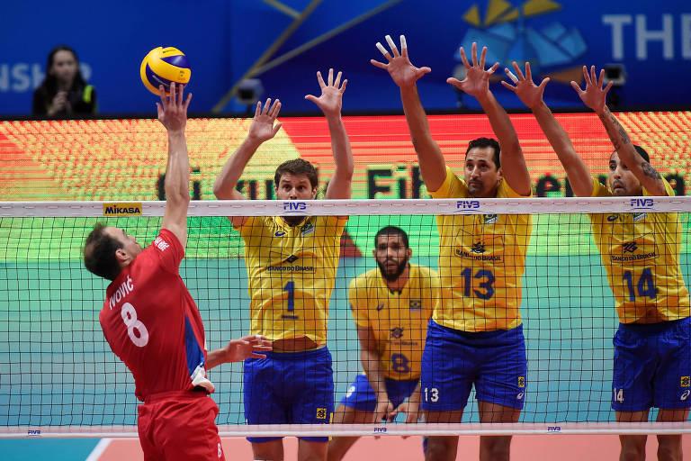 Brasil foi campeão do Mundial em 2002, 2006 e 2010