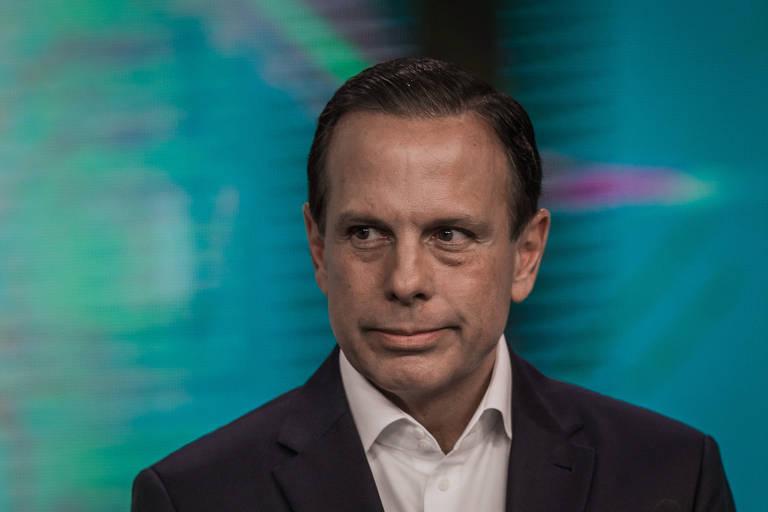 João Doria (PSDB) em debate durante campanha das eleições 2018