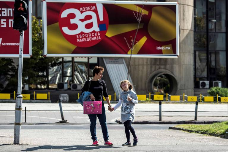 Por vaga na Otan, Macedônia vota troca de nome em referendo