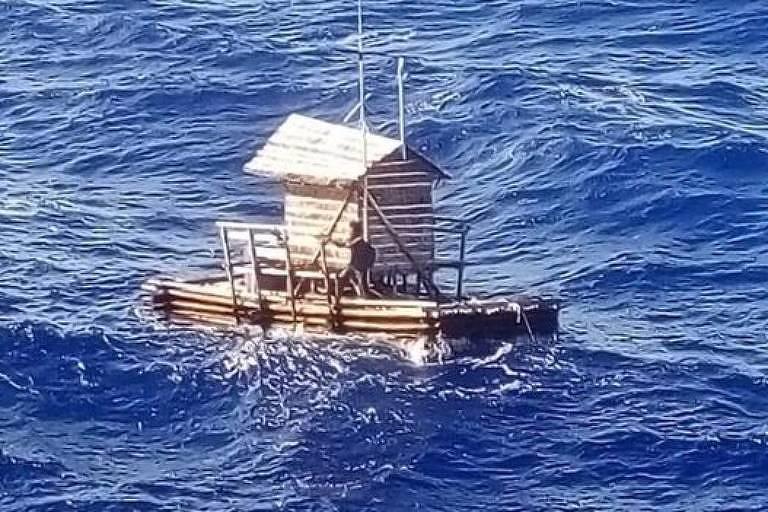 O jovem que ficou perdido no mar três vezes