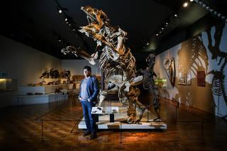 Mario de Pinna, diretor do Museu de Zoologia da USP, em SP