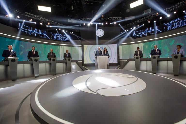 Debate com presidenciáveis na Record
