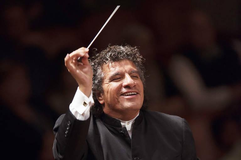 O maestro  Giancarlo Guerrero
