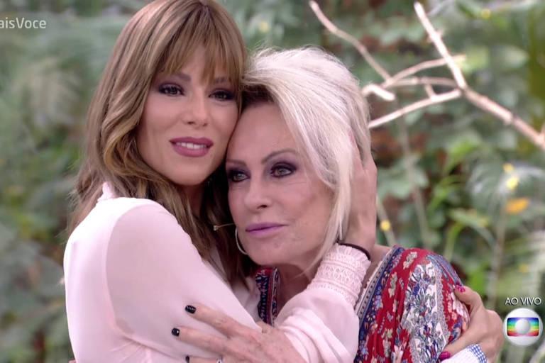 Ana Maria Braga se emociona com Ana Furtado e ganha agradecimento da amiga: 'Sabia que você me daria força'