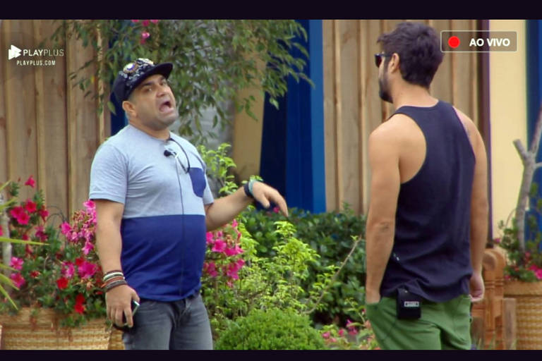 Evandro e Sandro conversam sobre Ana Paula