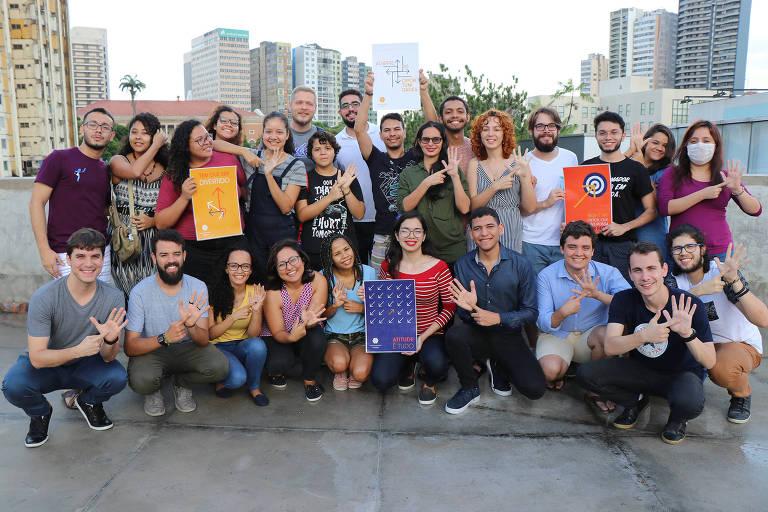 Jovens do Movimento Choice, desenvolvem competências empreendedoras em suas comunidades