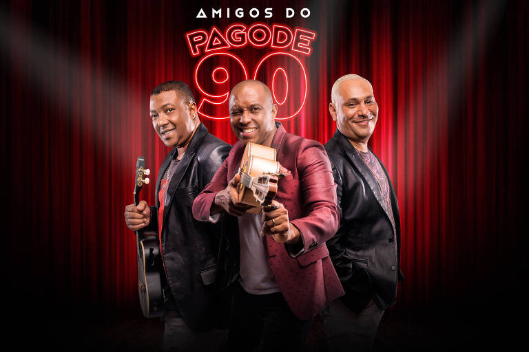 Amigos do Pagode 90 - Marcio Art, Salgadinho e Chrigor