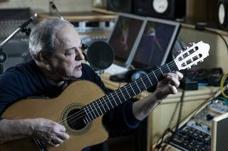 O músico Toquinho, em São Paulo