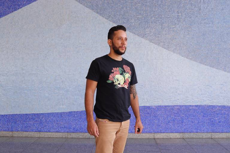 O goiano Everson Ribeiro, eleitor de Bolsonaro