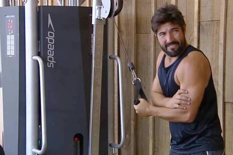 Sandro Pedroso indicado por Leo Stronda para a segunda roça da 10ª edição de A Fazenda