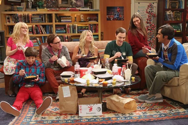 """Cena da série """"Big Bang Theory"""""""