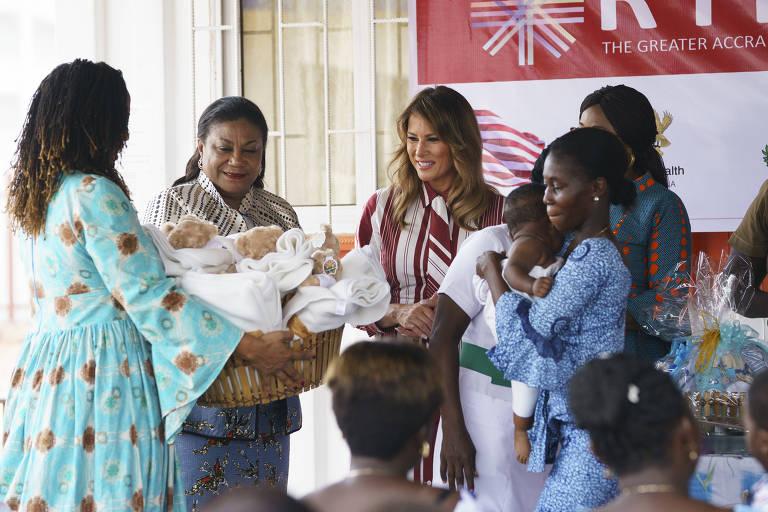 Melania Trump na África