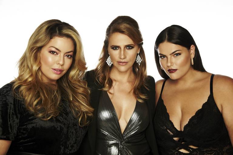 Fluvia Lacerda, Denise Gimenez e Mayara Russi são modelos plus size com carreiras de sucesso no Brasil
