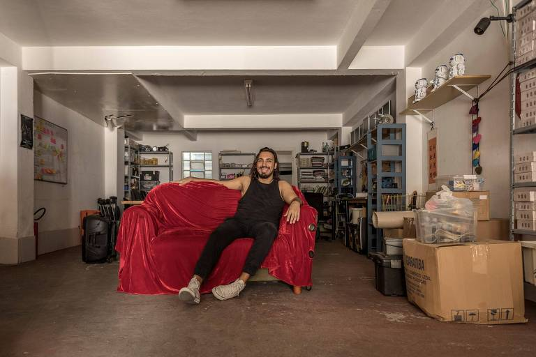 Gustavo Alencar, designer e hacker e coordenador web do Lab Hacker