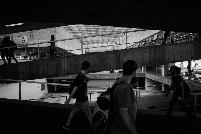 Prédio da Faculdade de Arquitetura e Urbanismo da USP; universidade paulista voltou ao primeiro lugar do Ranking Universitário Folha