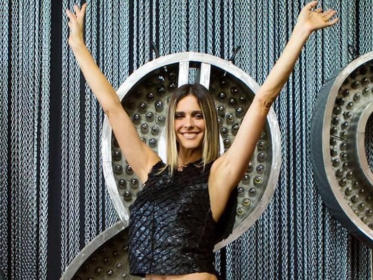 Fernanda Lima na apresentação da 10ª temporada de Amor e Sexo