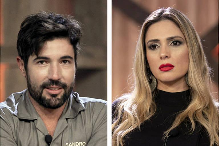 Sandro Pedroso e Nadja Pessoa forma a segunda roça de A Fazenda