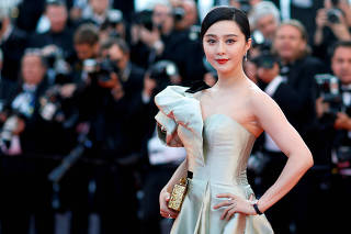 FILE PHOTO: Fan Bingbing poses at 71st Cannes Film Festival