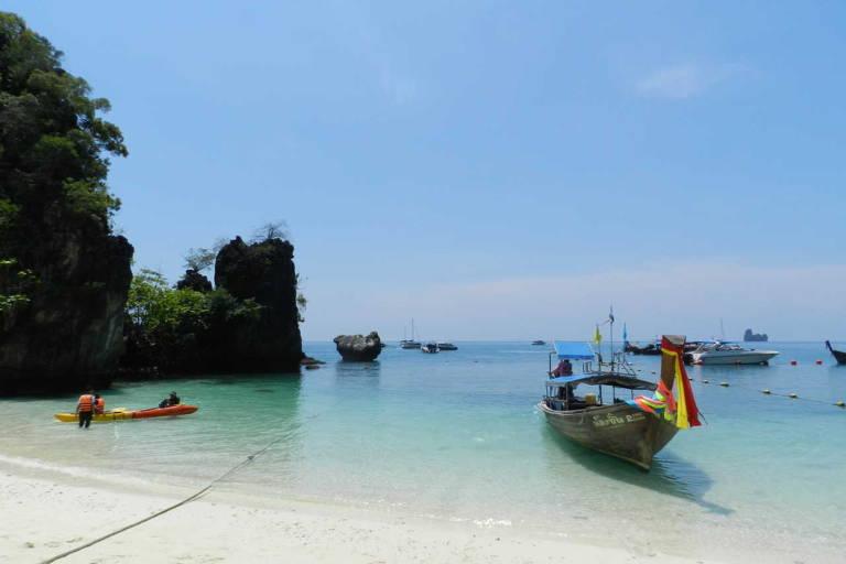 Praia de Krabi, Tailândia