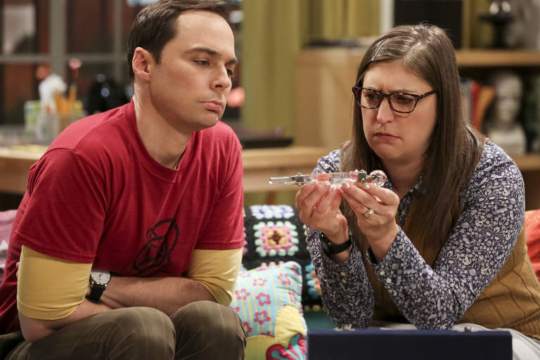 Cena da série 'The Big Bang Theory'