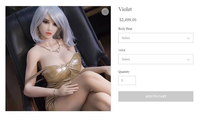 Bonecas eróticas