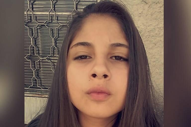Letícia Tanzi, 13 anos, que foi morta em São Roque, no interior de SP