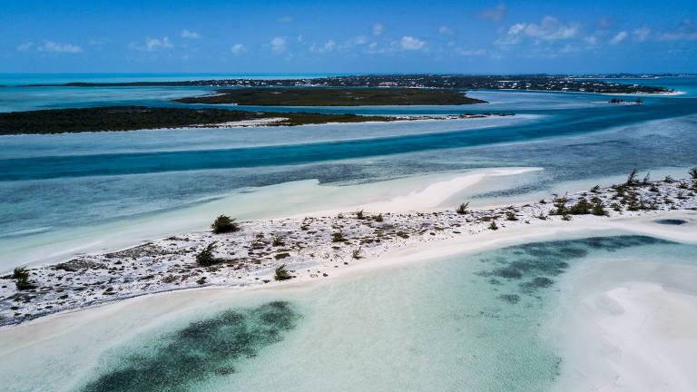 Turks e Caicos, no Caribe