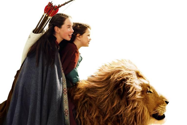 """""""As Crônicas de Nárnia: O Leão, a Feiticeira e o Guarda-Roupa"""", primeiro filme da saga, foi lançado em 2009"""