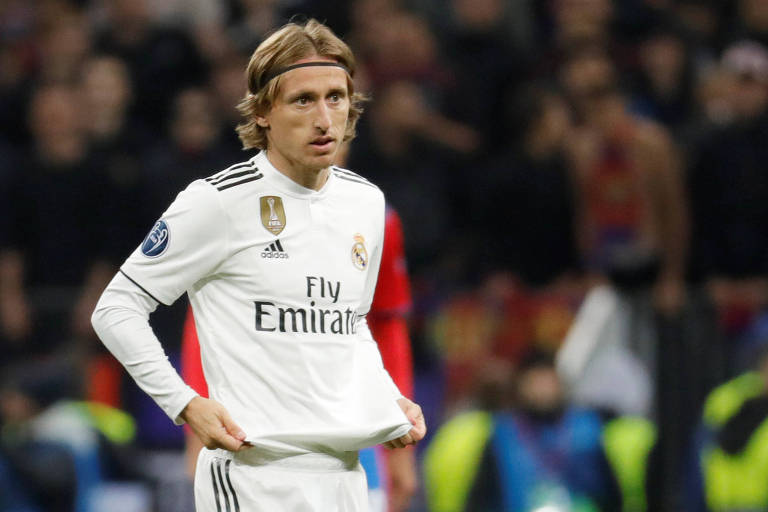 Luka Modric não sabe o que é vencer com o Real Madrid (ESP) desde que foi eleito melhor do mundo