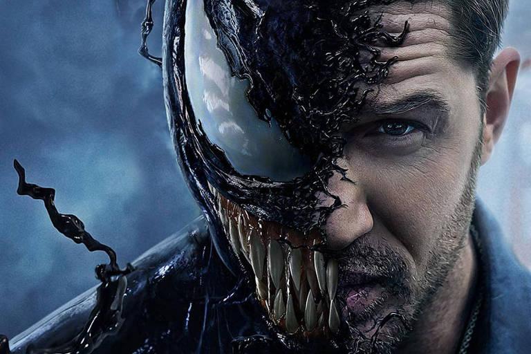 Cena de 'Venom', produção da Marvel